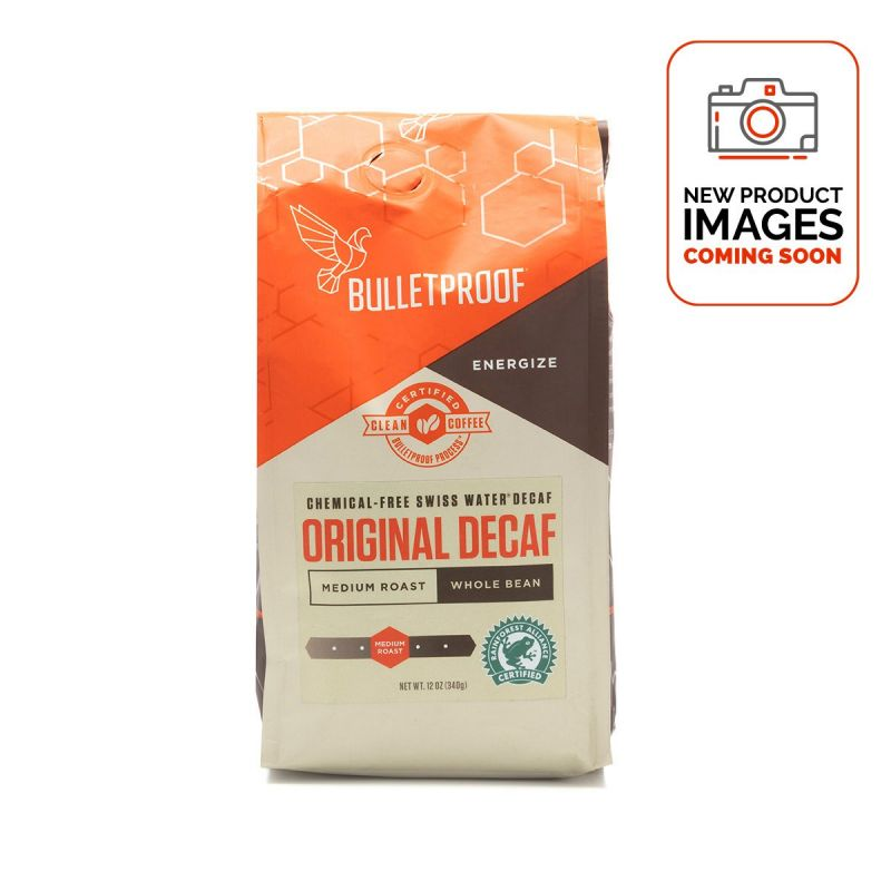 Bulletproof Decaf Coffee - Whole Bean