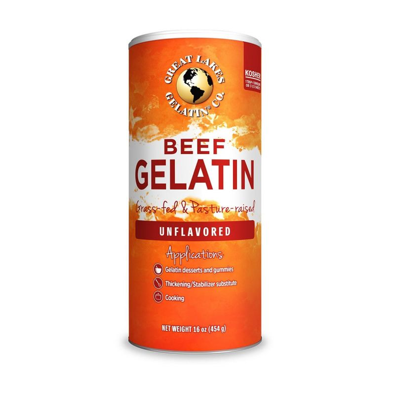 Great Lakes Unflavoured Beef Gelatin
