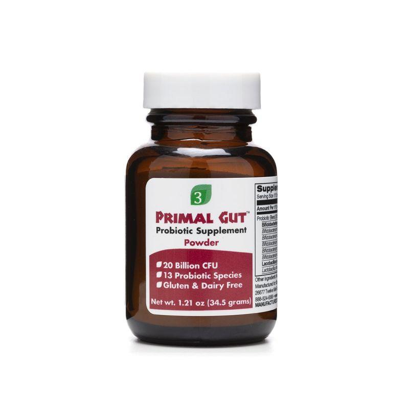 Organic3 Primal Gut 34.5g - Front