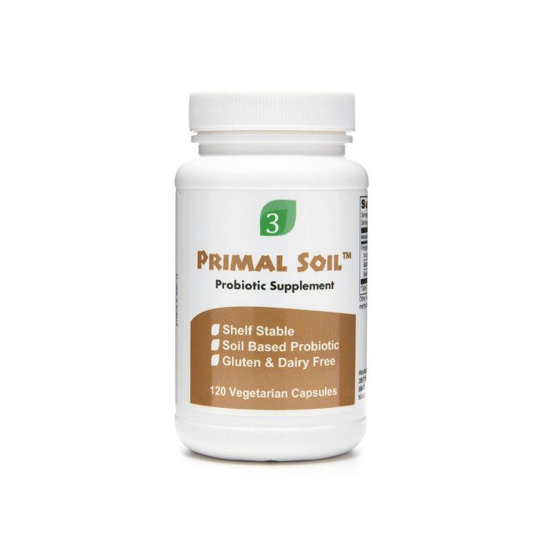 Organic3 Primal Soil 120's - Front