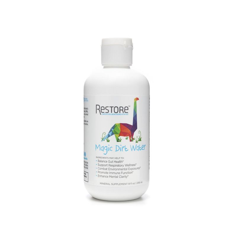 Restore Magic Dirt Water 236ml - Front