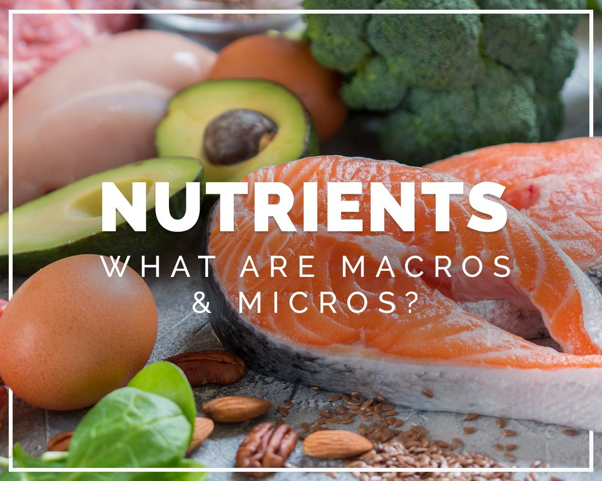 Nutrients: What are macros and micros?