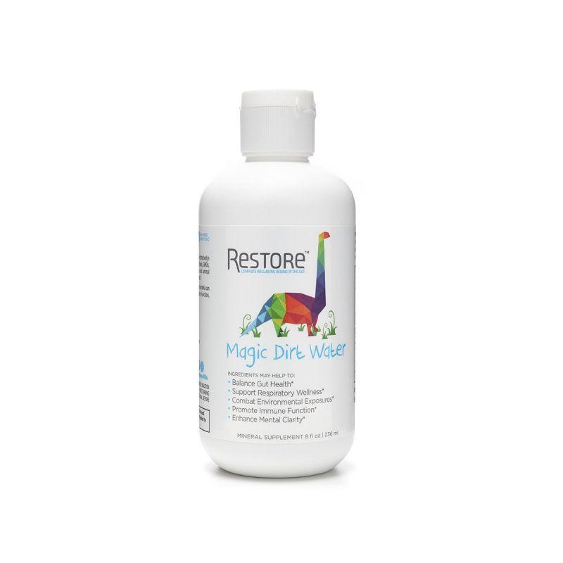 Restore Magic Dirt Water 236ml - Front