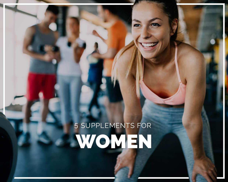 5 Supplements for Women