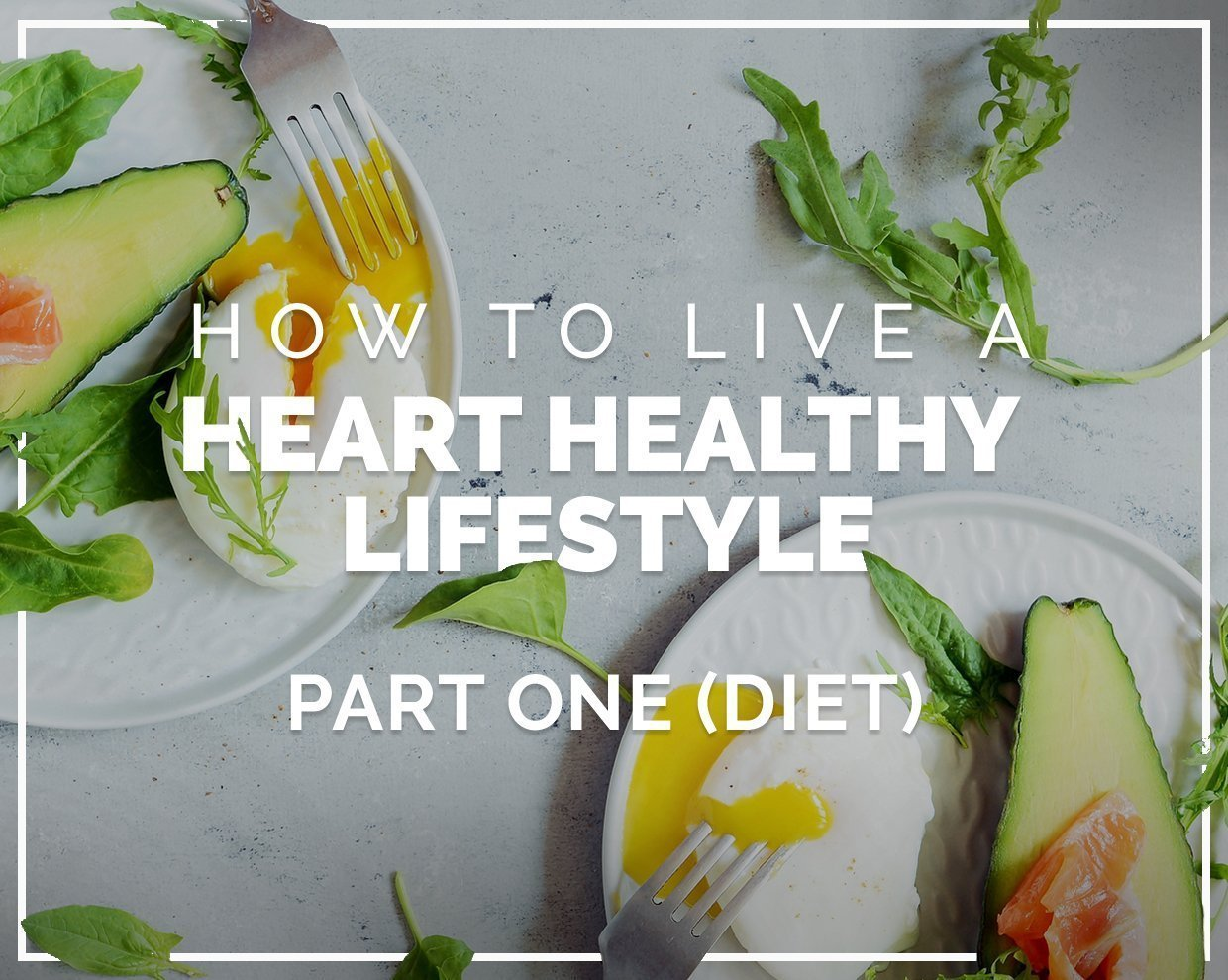 How to live a heart healthy lifestyle - Part One