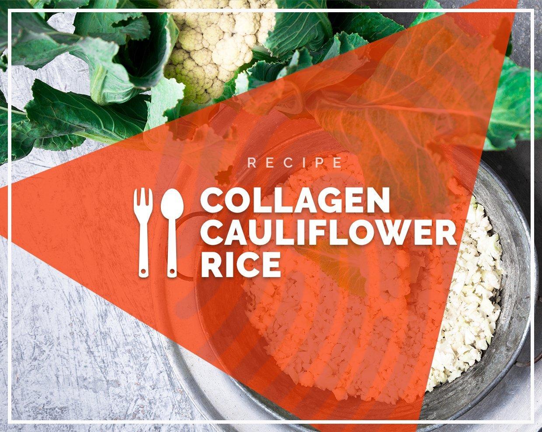 Collagen Cauliflower Rice